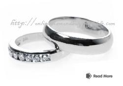 couple wedding bands