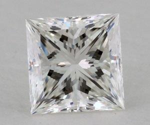 h vvs2 princess cut half carat