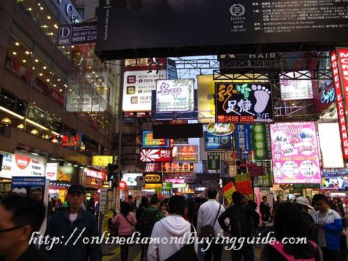 streets of mongkok