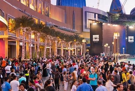 the dubai mall appearance