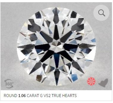 g color diamond example