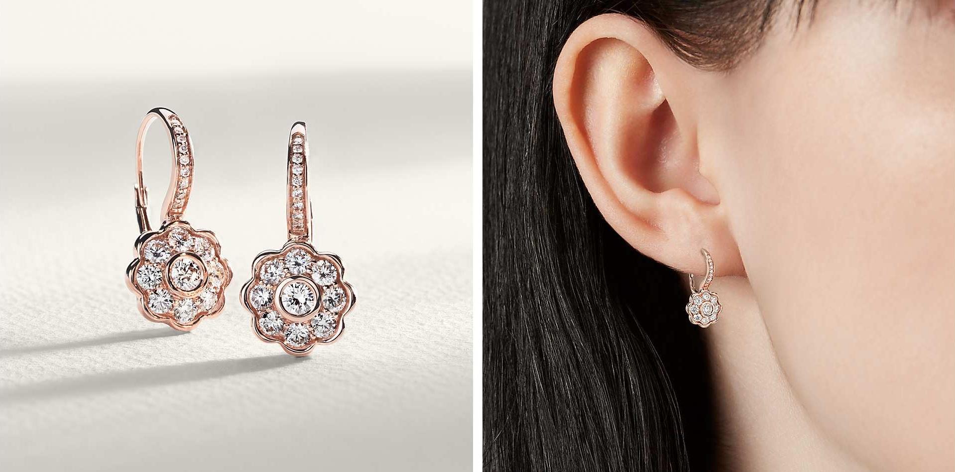 best place to buy preset diamond earrings online bluenile