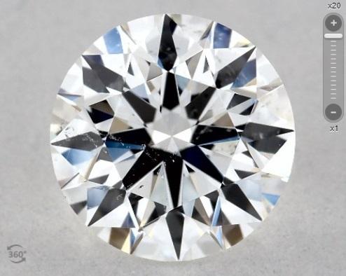 gia certified si2 loose diamond